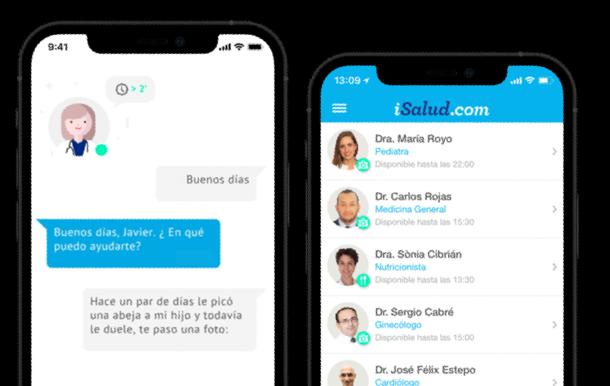 Chat Médico y Legal iSalud